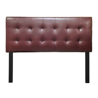 Embe Upholstered Panel Headboard Size: California King, Finish: Dan Rust