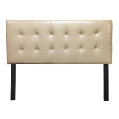 Embe Upholstered Panel Headboard Size: California King, Color: Lexus Doe