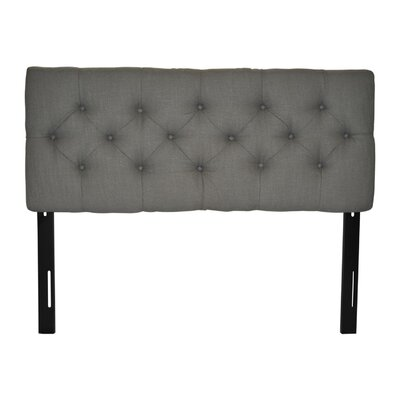 Jackie Twin Upholstered Panel Headboard Upholstery: Carlsbad Metal