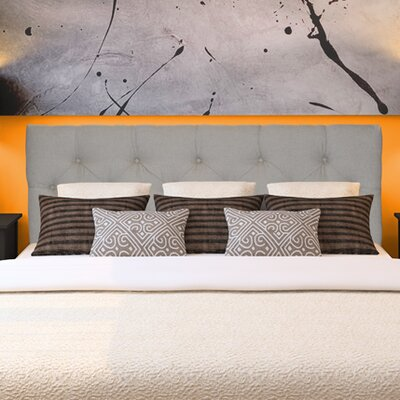 Jackie Upholstered Panel Headboard Size: Full