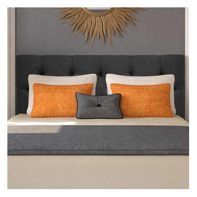 Jackie Queen Upholstered Panel Headboard Upholstery: Klein Dark Grey