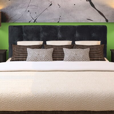 Jackie Queen Upholstered Panel Headboard Upholstery: Diva Smoke