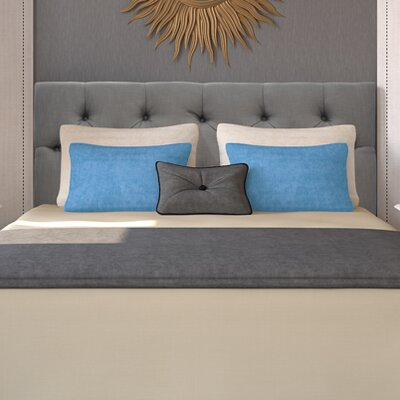 Jackie Queen Upholstered Panel Headboard Upholstery: Klein Light Grey