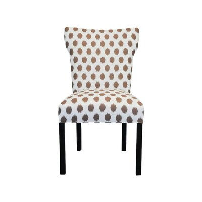 Brault Side Chair Upholstery: Jojo Brown