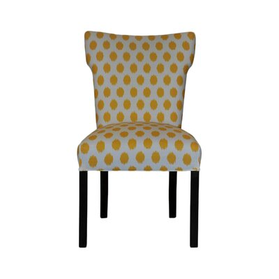 Bella Side Chair Upholstery: Jojo Yellow
