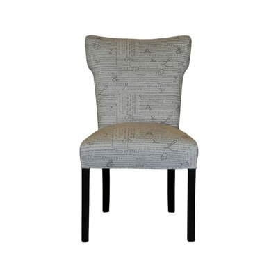 Brault Side Chair Upholstery: Newsletter Storm