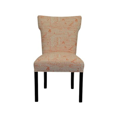Brault Side Chair Upholstery: Newsletter Tangelo