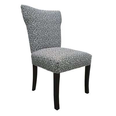 Bella Side Chair Upholstery: Grey