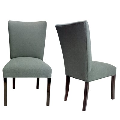 Julia Allure Spring Seating Double Dow Upholstered Side Chair