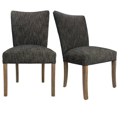 Julia Lucky Spring Seating Double Dow Upholstered Side Chair Upholstery: Phantom