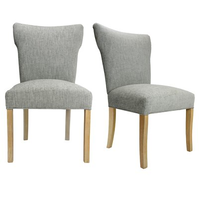 Bella Key Largo Spring Seating Side Chair Upholstery: Ash
