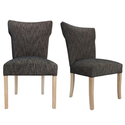 Bella Lucky Spring Seating Double Dow Upholstered Side Chair