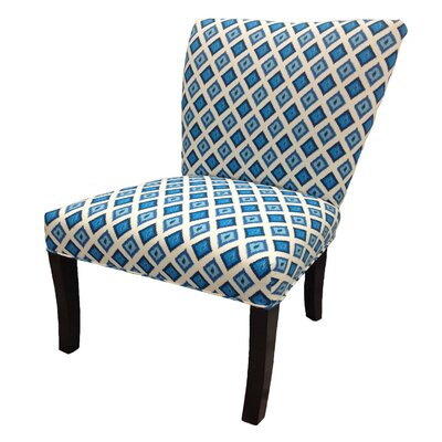 Nile Cotton Wingback Slipper Chair