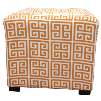 Amelia Chain Cube Ottoman