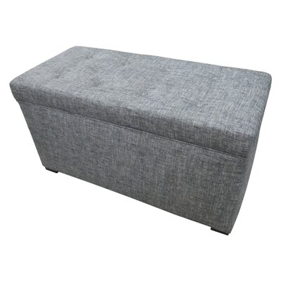 Angela Ottoman Finish: Black Sand