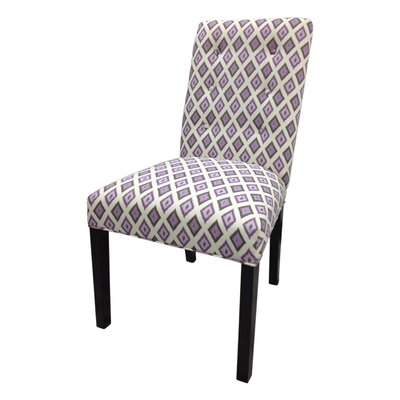 Side Chair Upholstery: Purple