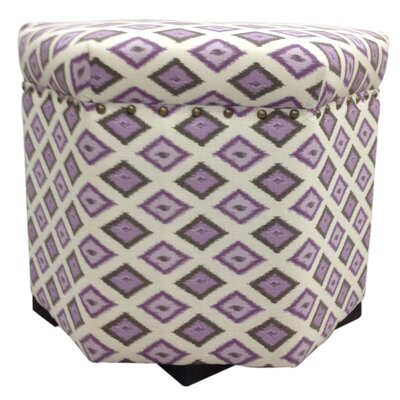 Carnival Ottoman Upholstery: Purple