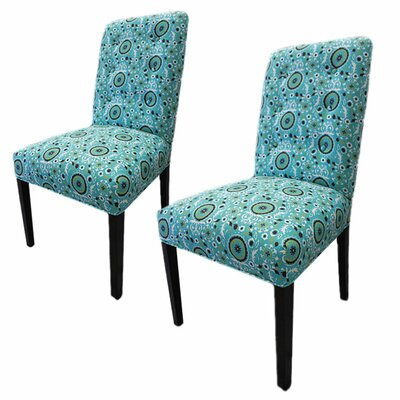 Kacey Suzani Cotton Side Chair