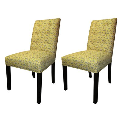 Kacey Side Chairs Upholstery: Dijon