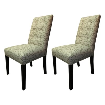Kacey Side Chairs Upholstery: Platinum