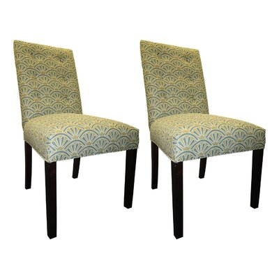 Kacey Side Chairs Upholstery: Capri
