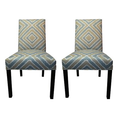 Nouveau Side Chairs Upholstery: Capri