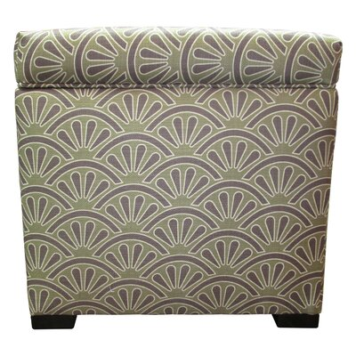 Tamara Storage Ottoman Upholstery: Bonjour Amethyst