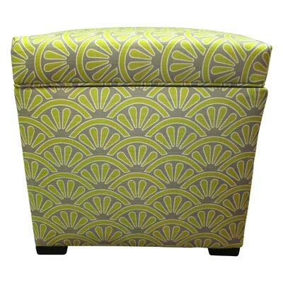Tamara Storage Ottoman Upholstery: Bonjour Wassabi