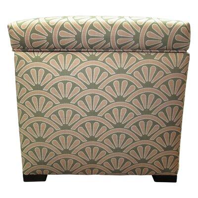 Tamara Ottoman Upholstery: Bonjour Blush