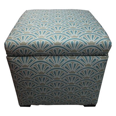 Tamara Ottoman Upholstery: Bonjour Capri