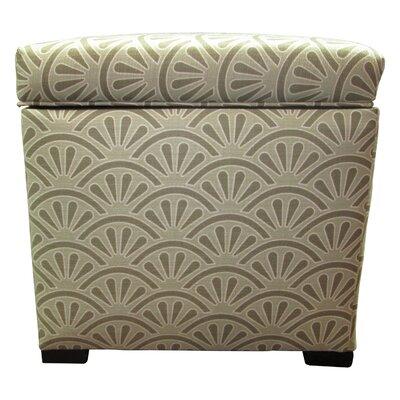 Tamara Ottoman Upholstery: Bonjour Platinum