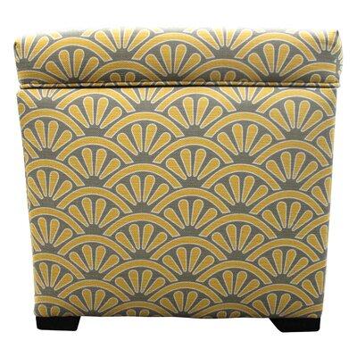 Tamara Ottoman Upholstery: Bonjour Dijon