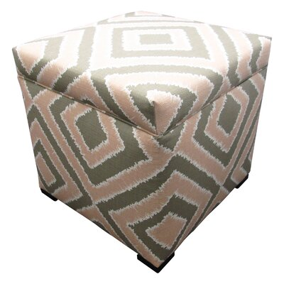 Tami Ottoman Upholstery: Nouveau Blush
