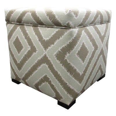 Tami Cube Ottoman Upholstery: Nouveau Platinum