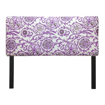Ali Suzani Grapevine Upholstered Panel Headboard Size: Twin, Upholstery: Grapevine