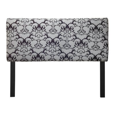 Ali Baroque Upholstered Panel Headboard Size: Queen