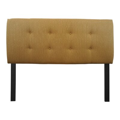 Ali Candice  Upholstered Panel Headboard Size: Twin, Upholstery: Fawn