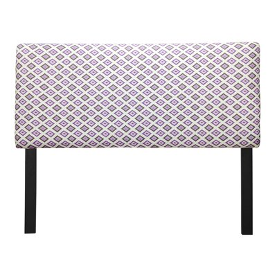 Ali Carnival Grape Upholstered Panel Headboard Size: Queen
