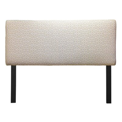 Ali Towers Upholstered Panel Headboard Upholstery: Onyx Grey, Size: Full