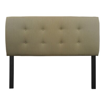 Sole Designs Candice Upholstered Headboard - Color: Sea Foam, Size: Queen at Sears.com