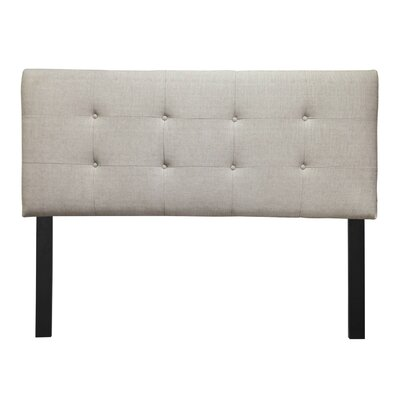 Ali Eastern King Upholstered Panel Headboard Upholstery: Carson Desert
