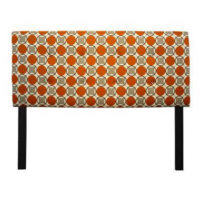 Ali Upholstered Panel Headboard Size: Queen