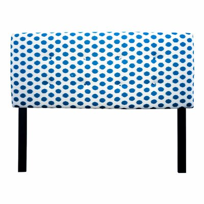 Ali Jojo Upholstered Panel Headboard Size: Twin, Upholstery: Aquarius