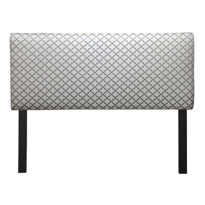 Ali Eddy Upholstered Panel Headboard Upholstery: Smoke, Size: Queen