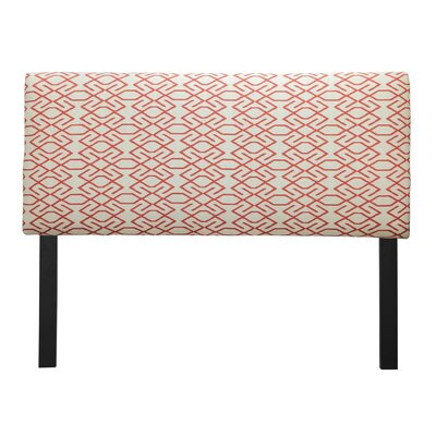 Ali Zoe Mandarin Upholstered Panel Headboard Size: California King