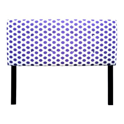 Ali Eastern King Upholstered Panel Headboard Upholstery: Jojo Thistle