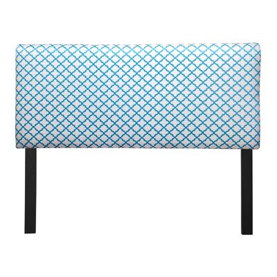 Ali Eddy Upholstered Panel Headboard Upholstery: Teal, Size: Queen