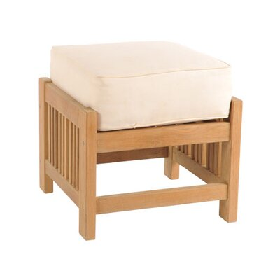 Summer Set Ottoman with Cushion