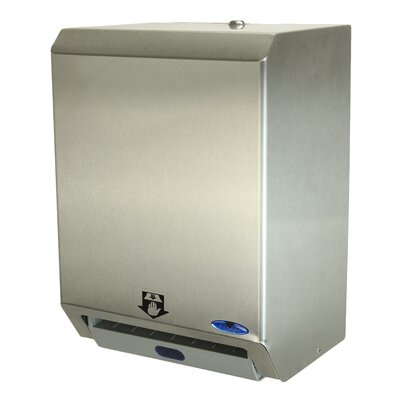 Auto Roll Paper Towel Dispenser Finish: Stainless Steel