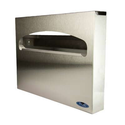 Toilet Seat Cover Dispenser Finish: Stainless Steel